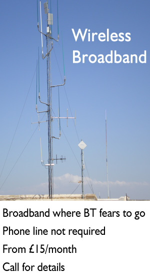 Wireless Broadband Transmitter
